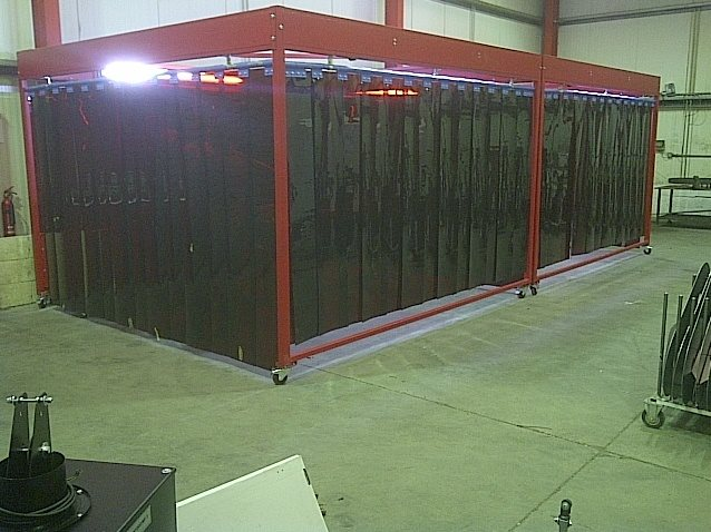 Masterweld Portable Welding Bays Are Manufactured In The