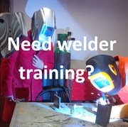 AES Welder training with text