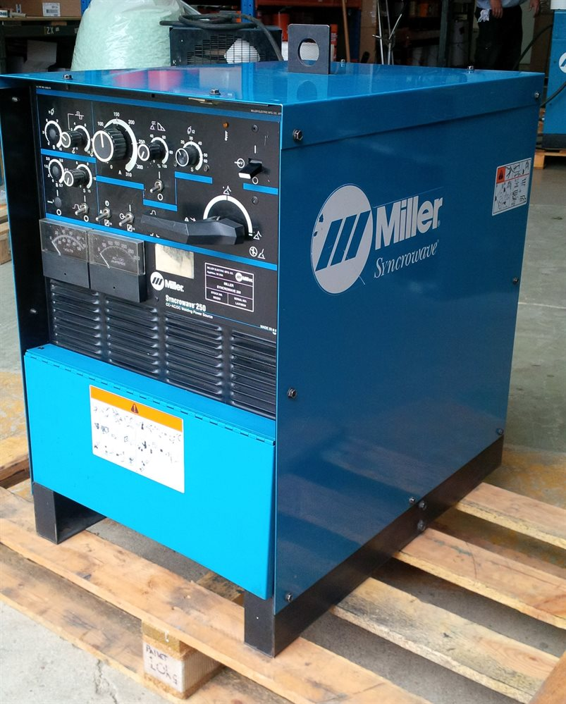 Second Hand Miller Syncrowave 250 For Sale