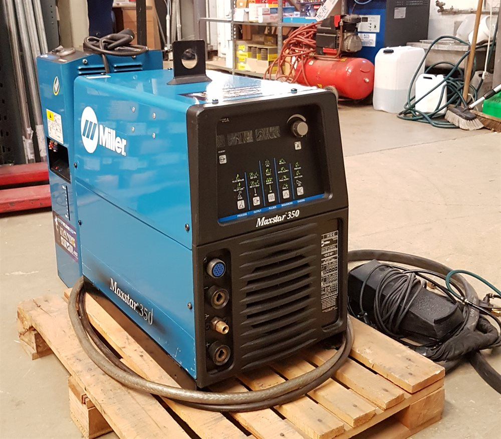 Miller TIG Welder 350 Amp Water Cooled - Second hand - AES Industrial Supplies Limited