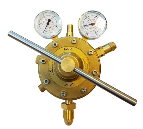 Multi-Stage High Pressure Gas Regulators