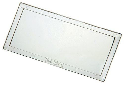 "Magnifying Lens 51 x 107mm (41/4"" x 2"") 2.5 Diopter"
