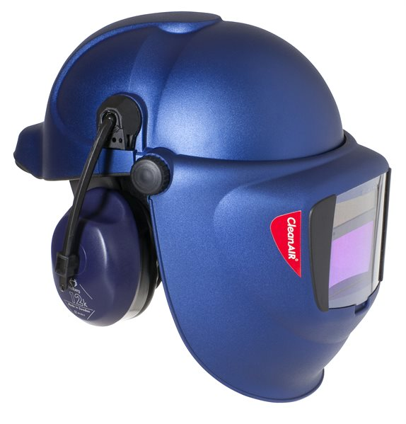 Air Fed Welding Mask Combined with Safety Helmet