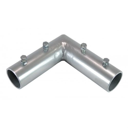 90 degree L connector for Welding Curtain 1 Inch Pipe
