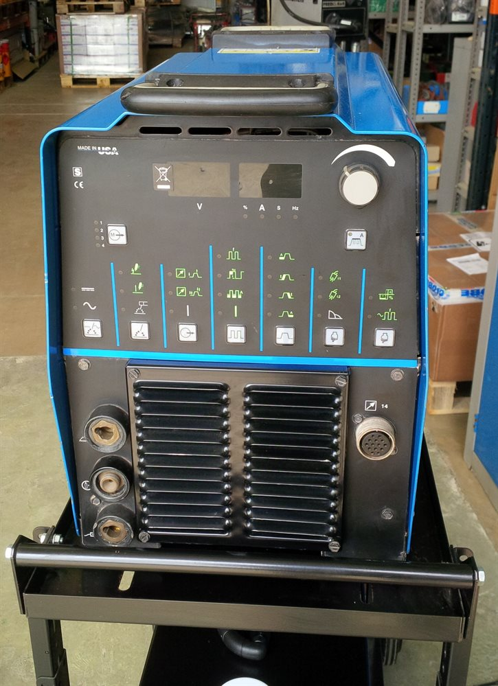 Second Hand Miller 300 Dynasty Water-Cooled TIG Welder - ready to weld