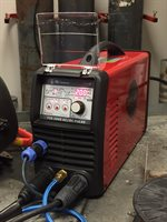 Maxarx 200E TIG Welder in use