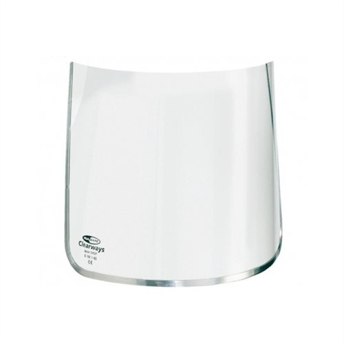 Clear Polycarbonate Visor 200mm CV83P