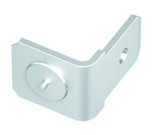 Aluminium single earthing tag