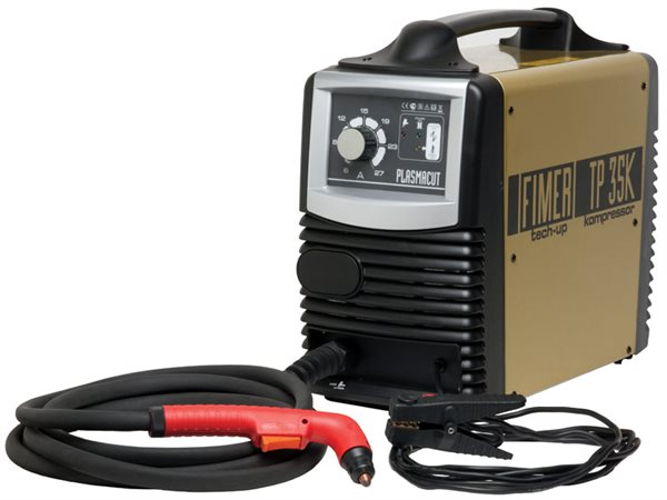 Fimer 35K Plasma Cutter with built-in compressor