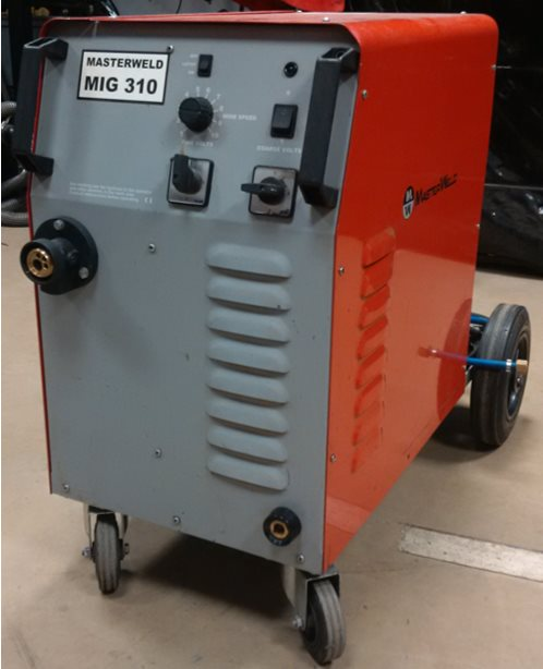 Mig Welder For Sale >> Masterweld 310 Compact Mig Welder Second Hand