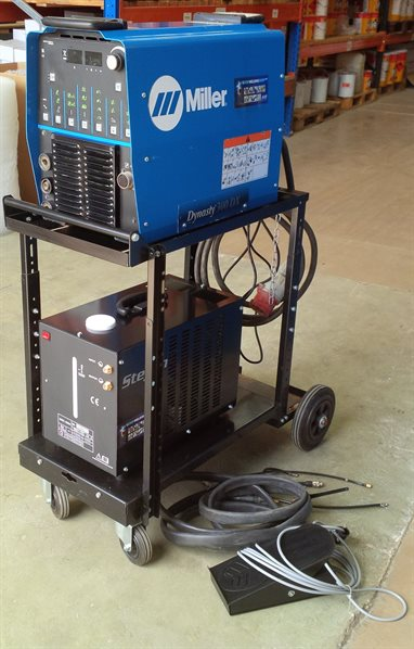 Second hand Miller Dynasty 300 Amp TIG Welder for sale - AES Industrial Supplies Limited