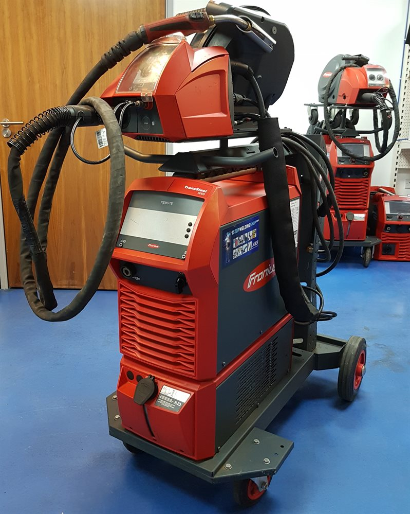 Used Mig Welders For Sale >> Fronius Transsteel 5000 C W Vr5000 W Cooled Package Ex Demo