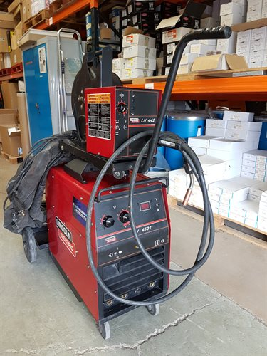 Lincoln 450 amp second hand MIG welder