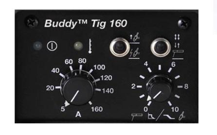 esab caddy tig 160 control panel